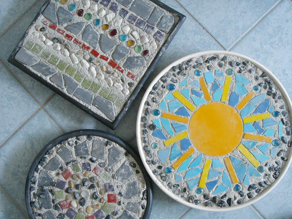 Herz aus Glas - Katis Betonpuddingplatten